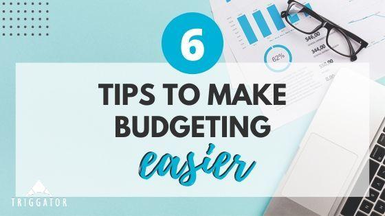 tips to make budgeting easier